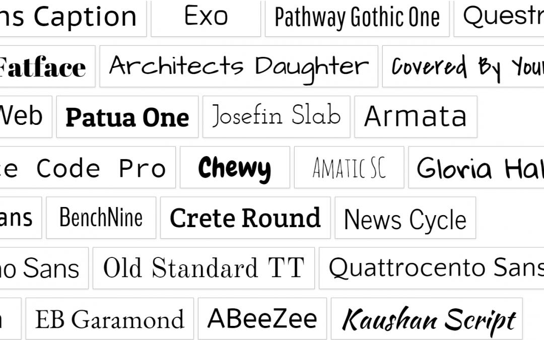 Qué son las google fonts tiendas virtuales en méxico