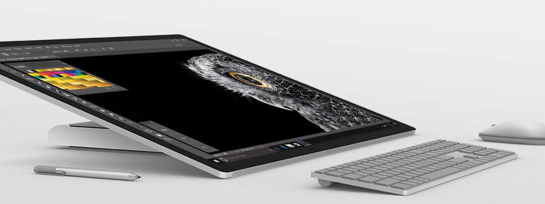 dial-surface-studio Para los Creativos: Surface Studio de Microsoft