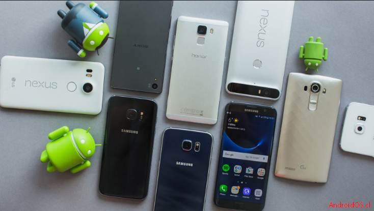 android Los mejores  teléfonos con Android