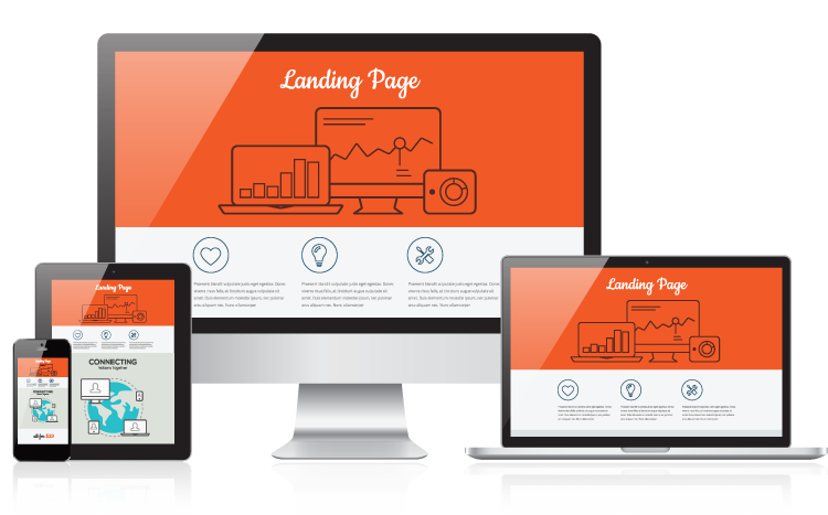 Landing page exitosa