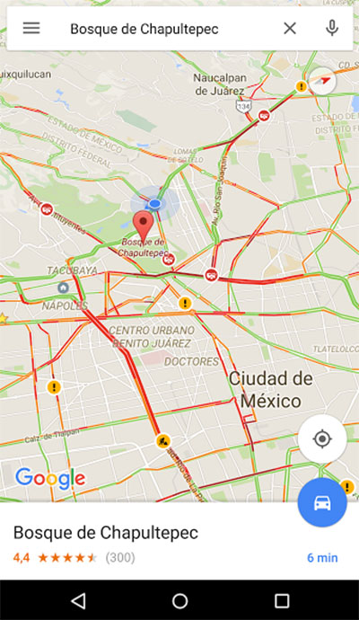 carriles1 Google Maps: una herramienta imprescindible