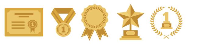 trofeos Recompensas virtuales: badges en las App