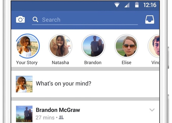 Facebook-Stories-iOS Facebook VS Snapchat: Incorpora Contenido Efímero