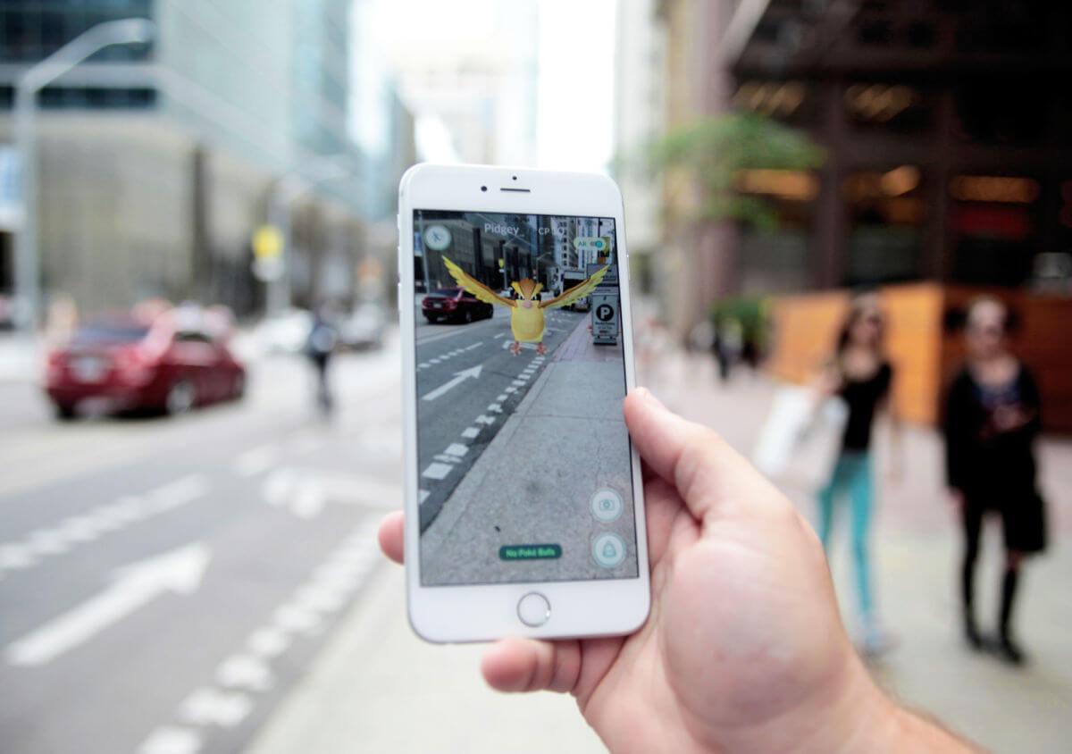 Pokémon-Go- Realidad aumentada en Pokémon Go