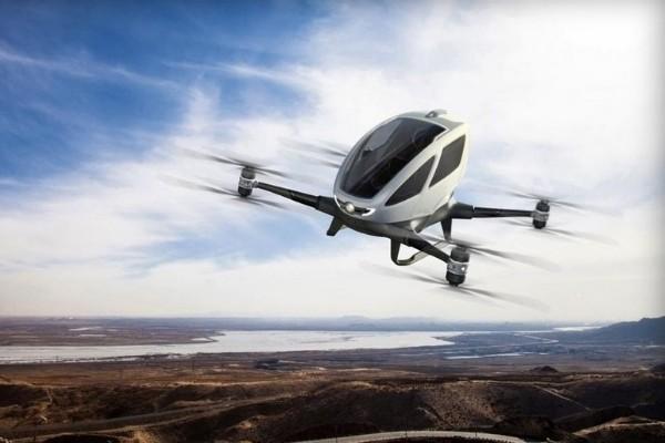 Drones taxi