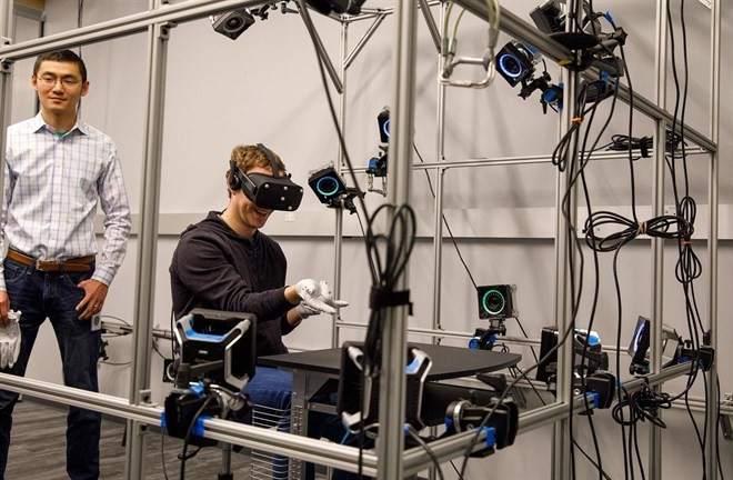 Guantes de realidad virtual para Oculus