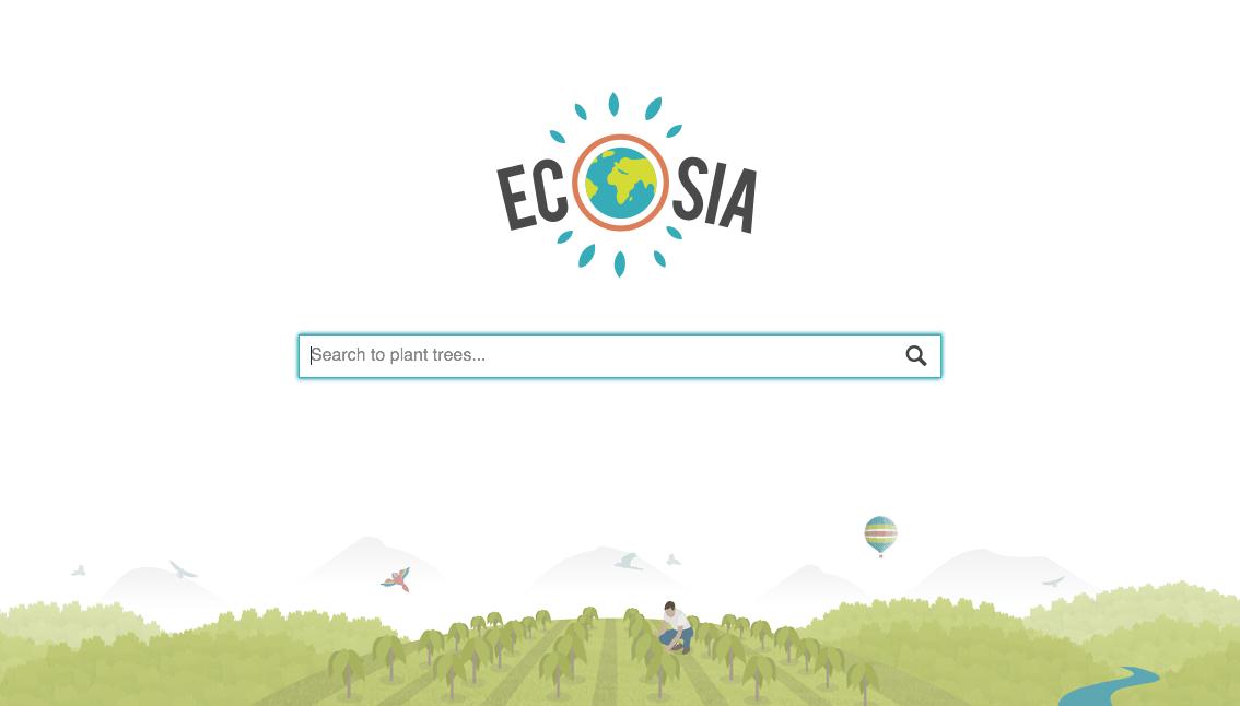 Ecosia buscador