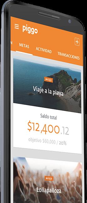 piggo Alcanza Tus Metas con Piggo app