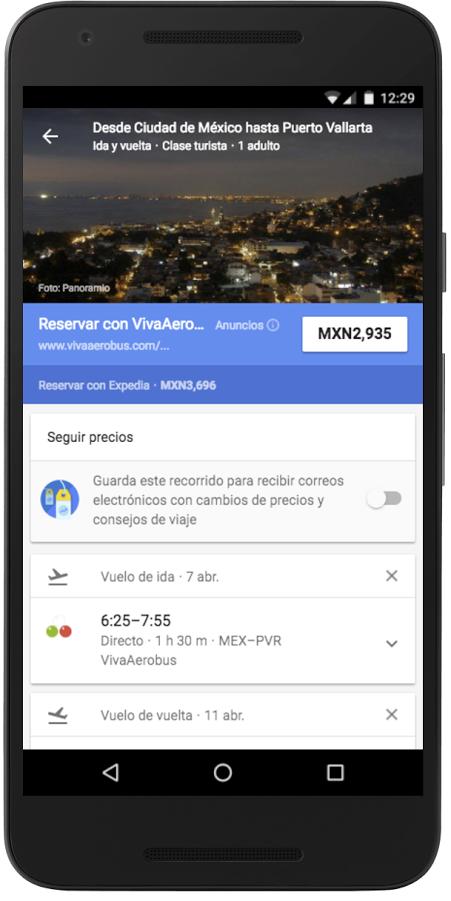 Google-flights Google Flights llega a México