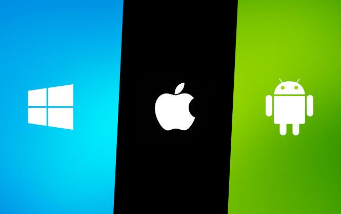 Cuántos usuarios hay de iOS, Android y Windows