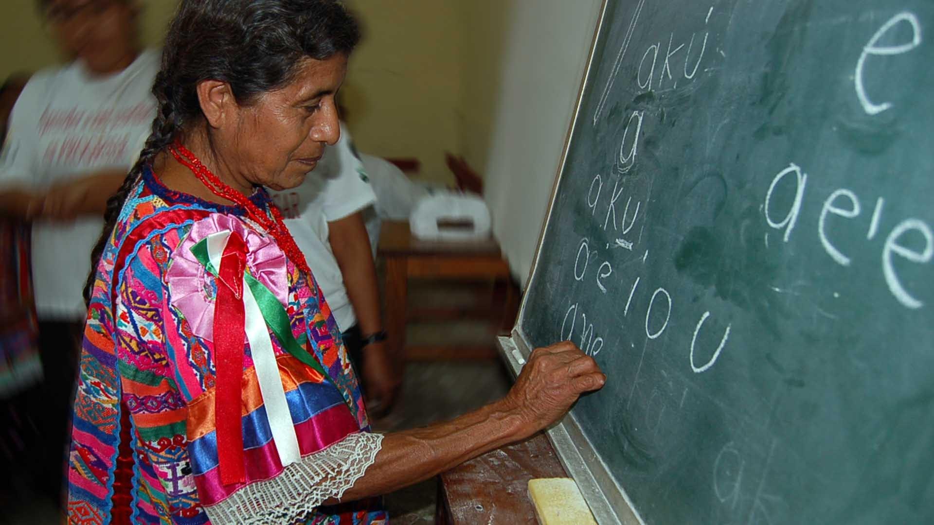 App para aprender zapoteco
