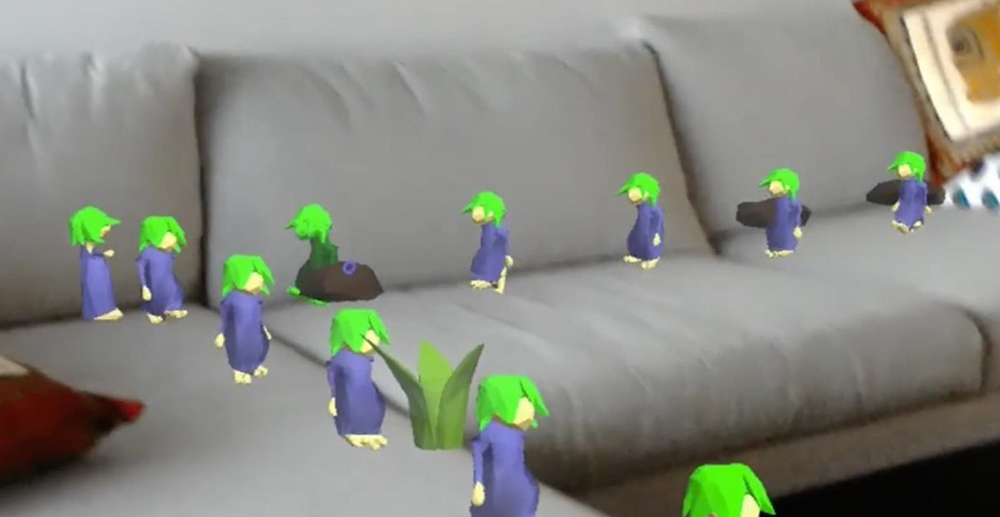 classic-90s-game-lemmings-comes-hololens HoloLems: lemmings en realidad aumentada