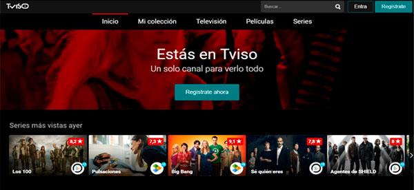 tviso Tviso, la plataforma que organiza tus series