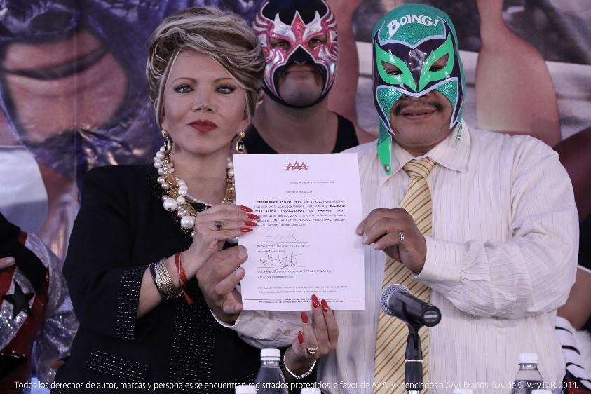 aaa Ponte la máscara con Boing y la AAA