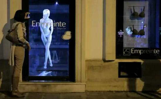 qué es la publicidad holográfica
