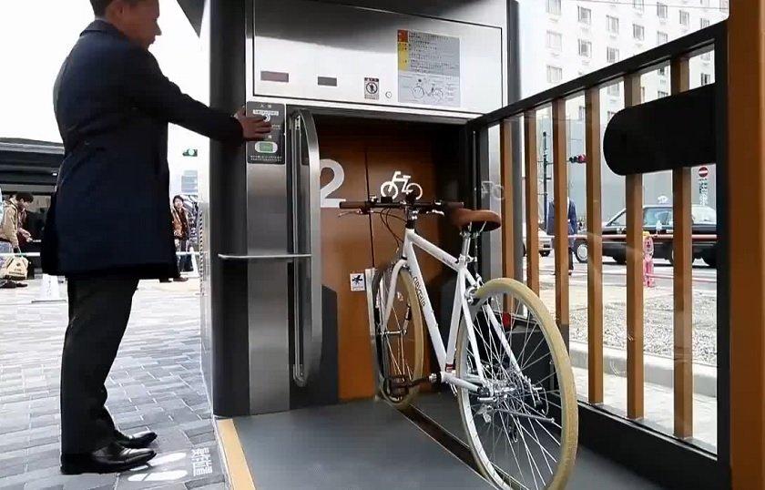 estacionamientos subterráneos para bicicletas