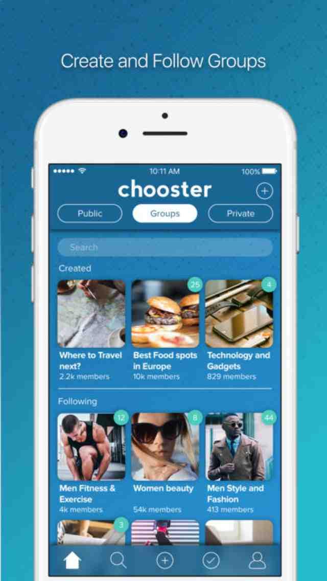 3_sshots_1508769801 Chooster la aplicación de encuestas