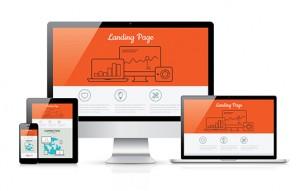 landing-page-Fotolia_68537522-300x191 Responsive landing page development vector template illustration
