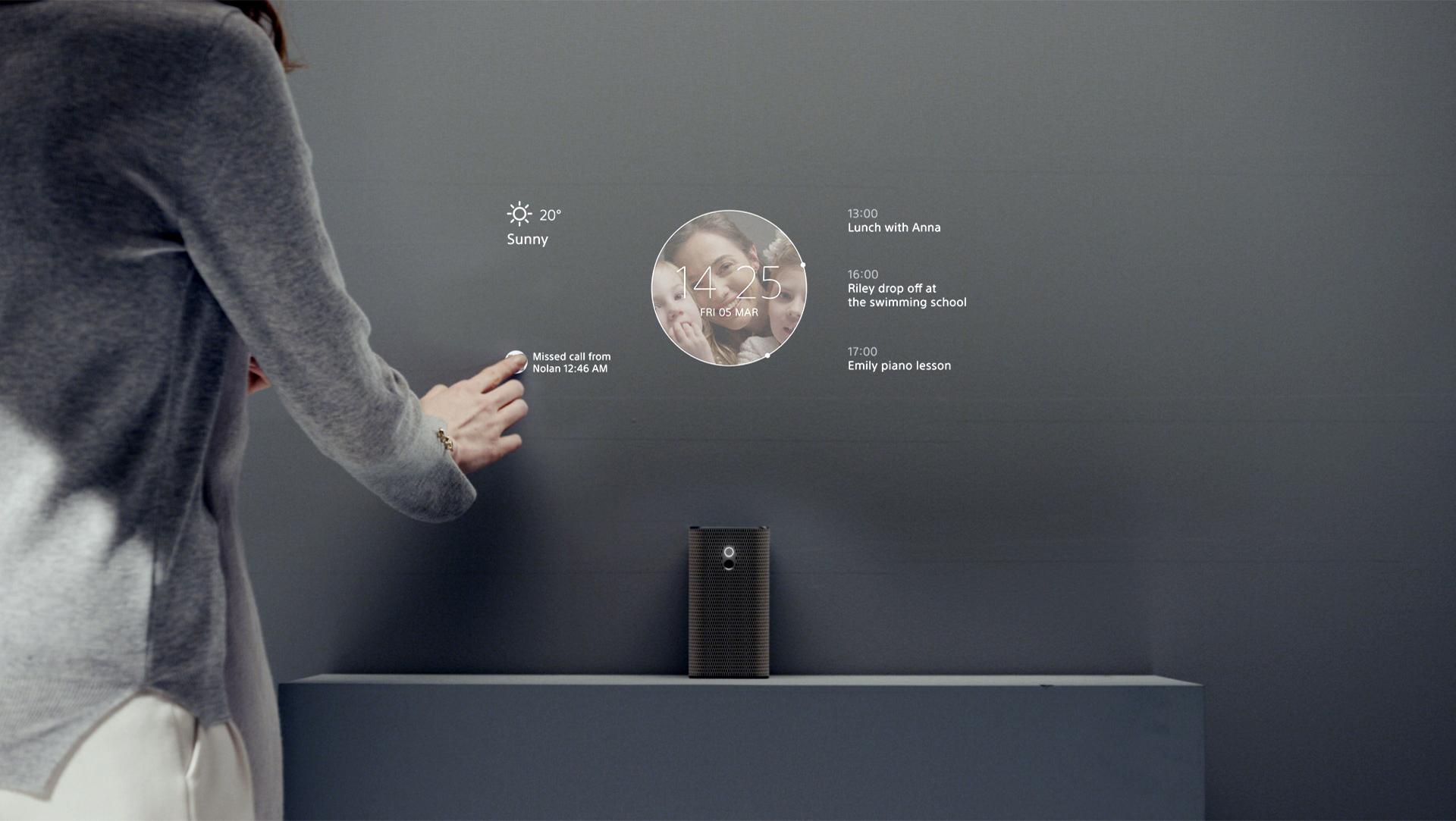 xperiatouchfeb28 El proyector de Sony: Xperia Touch