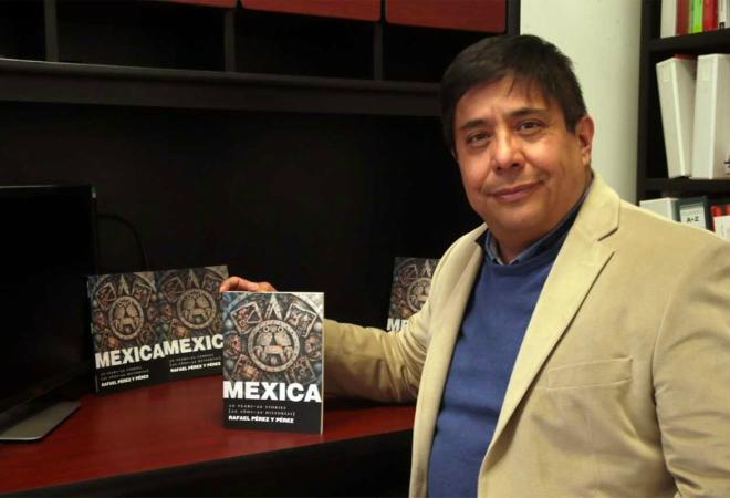 Creador-de-mexica Mexica, primer libro con IA
