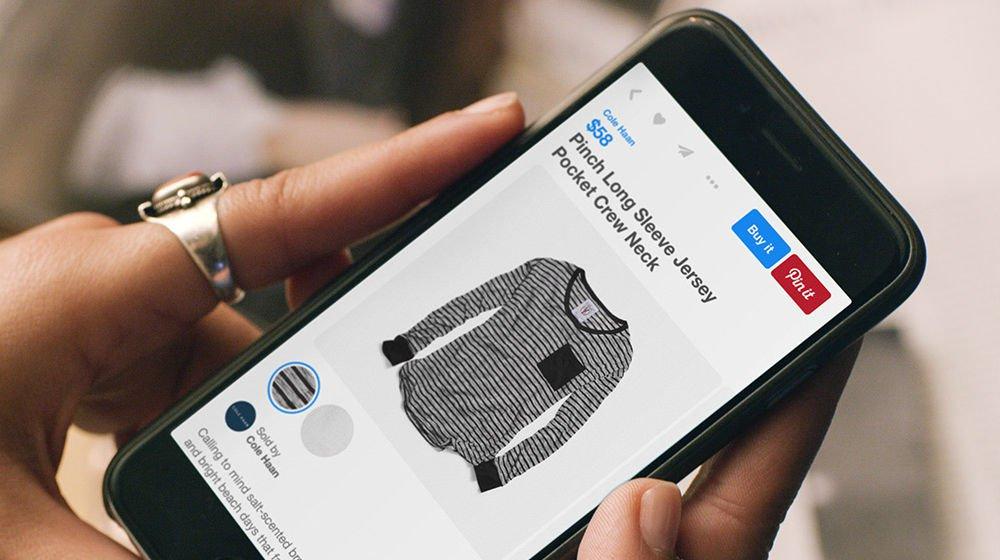 online-app Tienda virtual para una app móvil