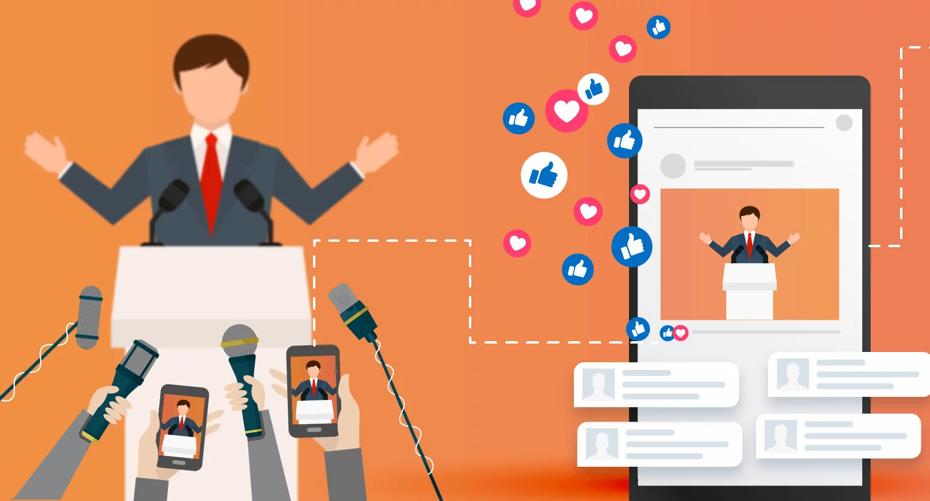 redes-sociales Logo para redes sociales y la publicidad creativa.