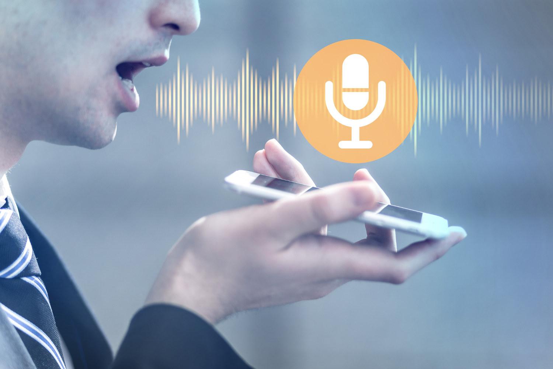 Aplicación de voz