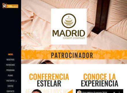 Diseño de Página web Expo Funeraria
