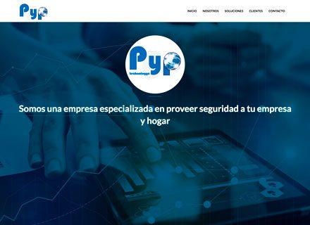 Página web seguridad tecnológica